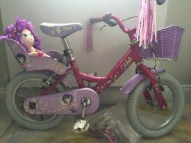 Girls Raleigh Bike like new