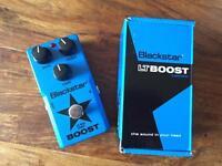 Blackstar LT Boost pedal / brand new