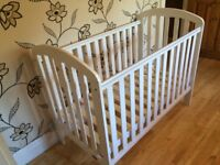 O BABY LILY WHITE COT