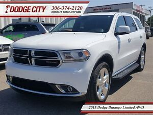 2015 Dodge Durango Limited | AWD | PST PAID