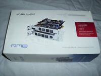 RME HDSPe RayDAT 72-Channel 192KHz ADAT/AES/SPDIF PCI Express Card