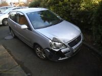 2007 VOLKSWAGEN POLO 1.2 HATCHBACK 3 DOOR