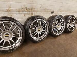 BBS 17 INCH ALLOY WHEELS WITH ALL SEASON TIRES