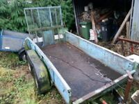 plant trailer 2 ton with ramp