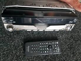 Pioneer car dvd player flip up