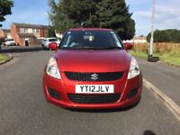 Suzuki swift 2012 with low mileage 1.2L