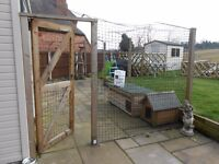 Protectapuss/Protectapet cat safe fencing/enclosure materials