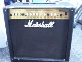 MARSHALL MG50DFX 50 WATT AMP