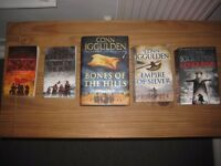 Conn Iggulden - entire series book set collection Empire of Silver, Bones of the Hills, etc.