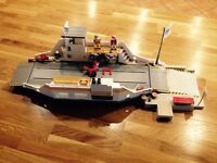 Playmobil 5127 Car Ferry with Pier, scooter, bike and four figures