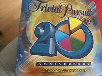 Trivial Pursuit 20 year anniversary never been opened
