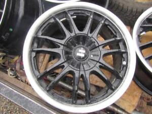 4---17 in Multi fit Alloys---5 x 110mm and 5 x 114.3mm