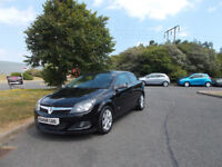 VAUXHALL ASTRA 1.6 TWINPORT DESIGN BLACK NEW SHAPE 2009 ONLY 71K MILES BARGAIN £1950*LOOK*PX/DELIVER