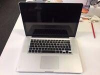 MacBook Pro 15.4 inch 8 GB Ram i7 500GB