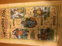 Tea Towel, Twycross Zoo - Are These Our Nearest Relatives - Collective