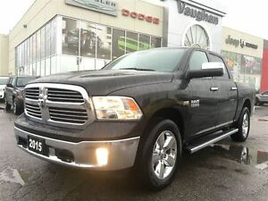 2015 Ram 1500 Big Horn Crew Cab 4x4 Scat Pac - Only 13022 kms!!