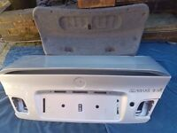 BMW E46 Coupe boot lid with genuine BMW spoiler Titan silver V.G.C.