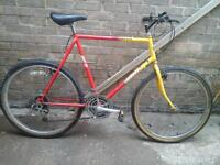 MOUNTAIN BIKE 26 INCH WHEELS 21 GEARS EXCELLENT CONDITION £ 45 NO TEXTS