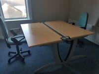 office desks steelcase in beech