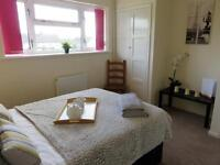 LARGE MODERN DOUBLE ROOM in professional house share