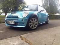 Mini cooper s 1.6 long mot low mileage no swap /px