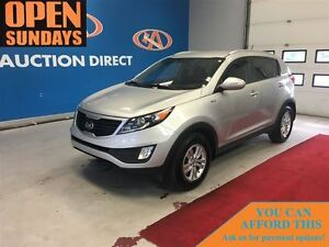 2013 Kia Sportage LX AWD! FINANCE NOW!