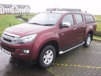 Isuzu D-Max TD Eiger Double Cab Pickup, manual ,full service history