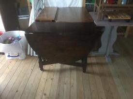 Choice of different wooden drop leaf tables - cheap for quick sale
