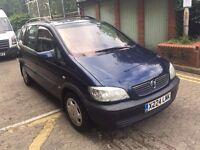 2001 Vauxhall Zafira 2.0 DTI 7 seater