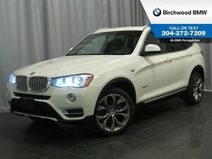 2015 BMW X3 xDrive28i Premium Package Enhanced Connected Drive