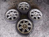 Renault Clio MK2 2001-2006 Momocorse Alloy Wheel Set X4 16inch
