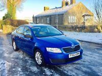 2013 63 Skoda Octavia S 1.6 Tdi Blue 5 Door Hatchback **FACELIFT** ** FULL SKODA SERVICE HISTORY**