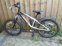 Claud Butler boy mountain bike, 20'' wheels