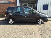 Renault Scenic 1.6 16v Expression 5dr - 2001, 2 Owners, MOT May 2017, 72K Miles, Drives Great! £395
