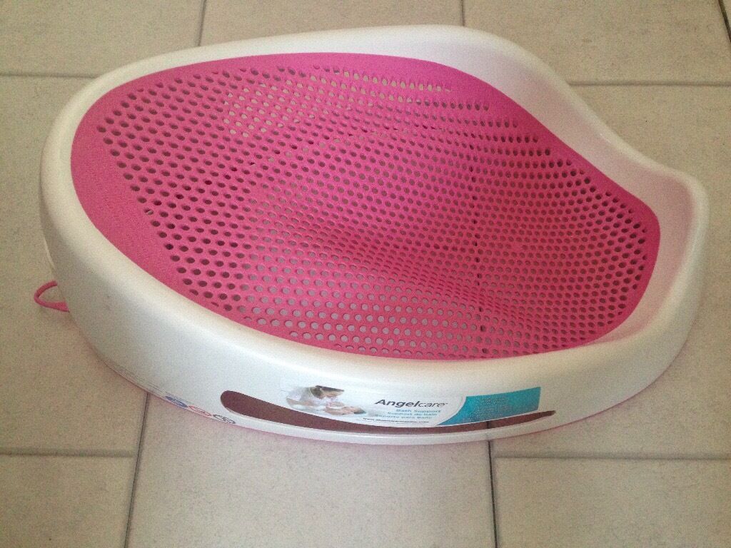 Angelcare support bath pink - Angelcare Baby Bath Support