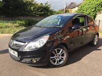 VAUXHALL CORSA 1.3 CDTI SXI PEARL BLACK FULL SERVICE HISTORY, ALL MAJOR CARDS ACCEPTED, PX WELCOME