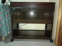Phillips Mahogany hostess trolley HL6200DB
