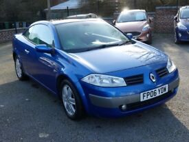 ** GLASS TOP CABRIO ** 06 REG RENAULT MEGANE 2.0 DYNAMIQUE CONVERTIBLE