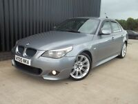 2005 BMW 5 Series 2.5 525d Sport 4dr 2 Keys, Service History m Sport Kit May px