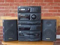 JVC Sound System - Radio - CD - Cassette - Speakers