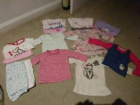 Girl bundle 9-12 months