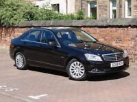 FINANCE AVAILABLE!!! 2008 MERCEDES-BENZ C CLASS 2.1 C200 CDI ELEGANCE SALOON 4dr, FULL LEATHER