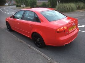 Audi A4 2.0 TDI Quattro S Line special edition 170 BHP 2007 Full service history