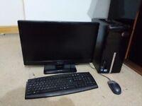 Packard Bell quad core 1080p setup