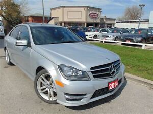2014 Mercedes-Benz C-Class C300-4MATIC-SPORT+ PREM PKG - SUNROOF