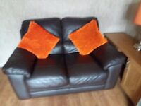 Two and three dark brown excellent condition