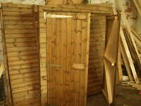 SHEDS--SHEDS ANY SIZE MADE TO ORDER FREE DELIVERY AND ERECTION 20 YEARS IN TRADE