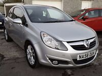 2008 58 Vauxhall CORSA 1.2 SXi, New MOT & Service, 86,000 Miles, CD Player/FM Radio, Electric Win...