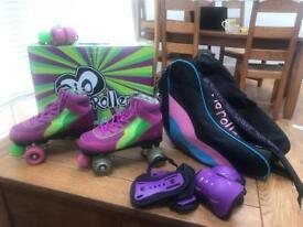 Rio roller roller skates size 5 Euro 38