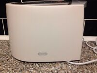 Haden White And Silver Toaster